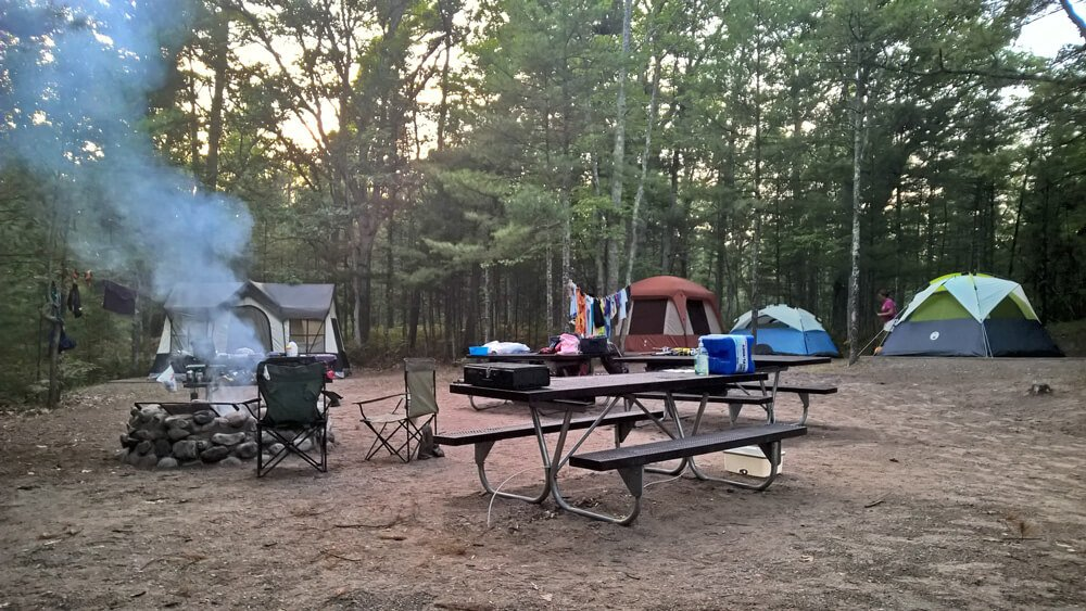 Camping and Contentment