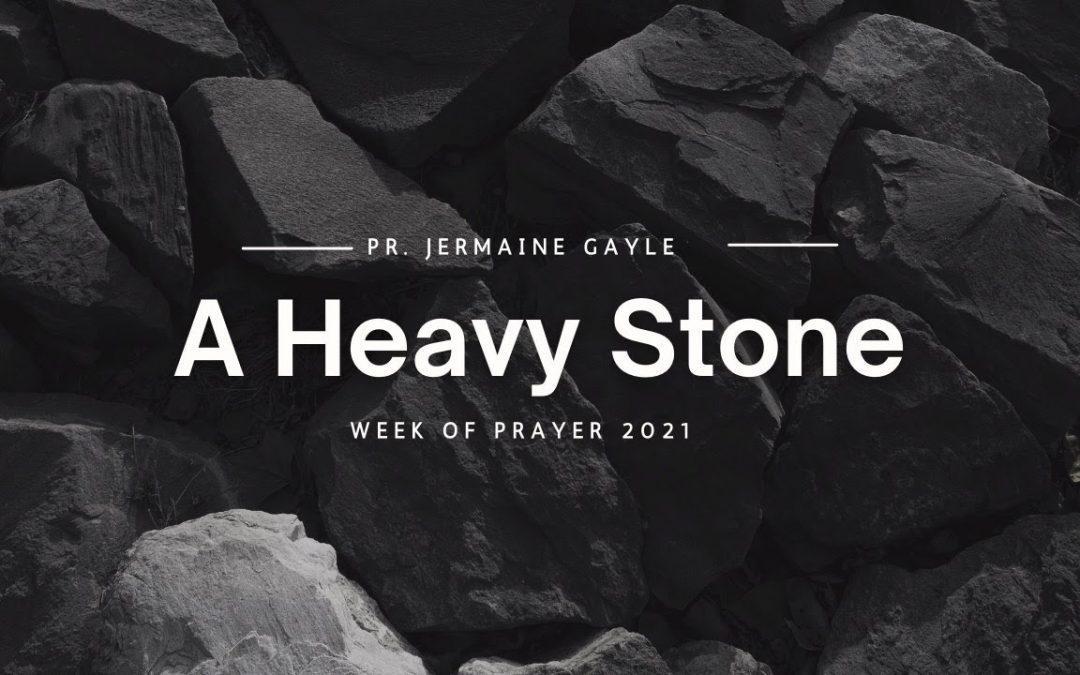 A Heavy Stone